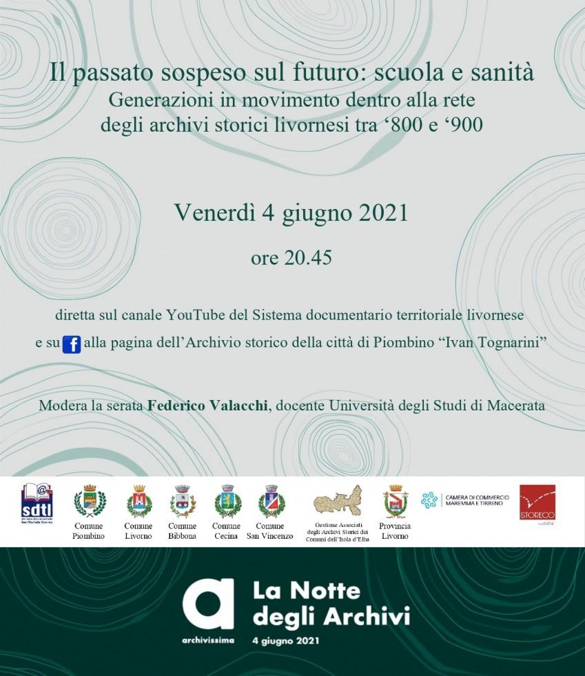Notte degli Archivi - Rete Archivi storici Livorno